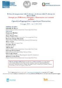 Racca-8 maggio-Master SEIIC-capacità nell'aggregazione e capacità per l'innovazione